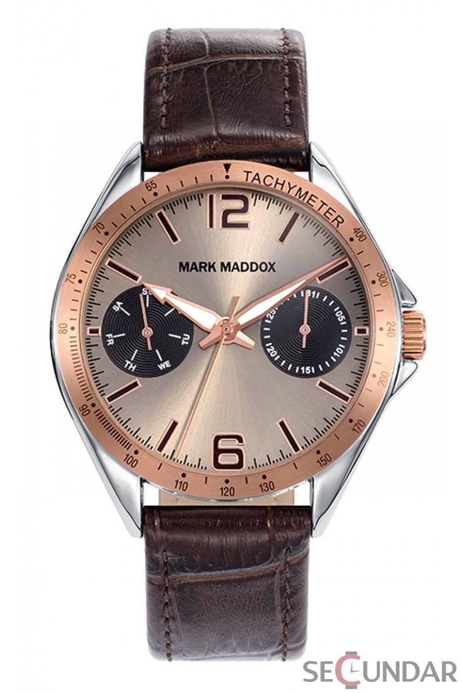 Ceas Mark Maddox Elegant-Sport HC7006-45 Barbatesc de Mana Original