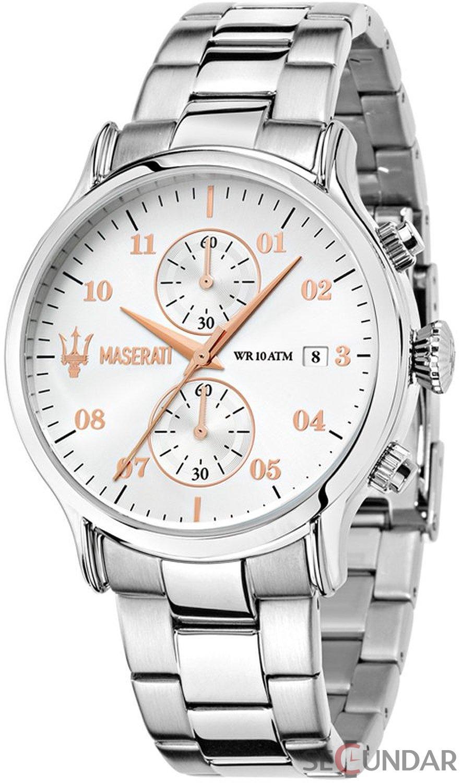 Ceas Maserati EPOCA R8873618002 Cronograf Barbatesc de Mana Original