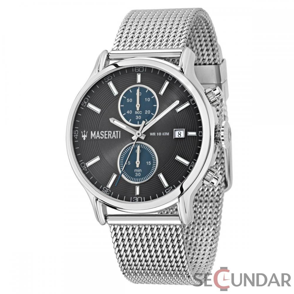 Ceas Maserati EPOCA R8873618003 Cronograf Barbatesc de Mana Original