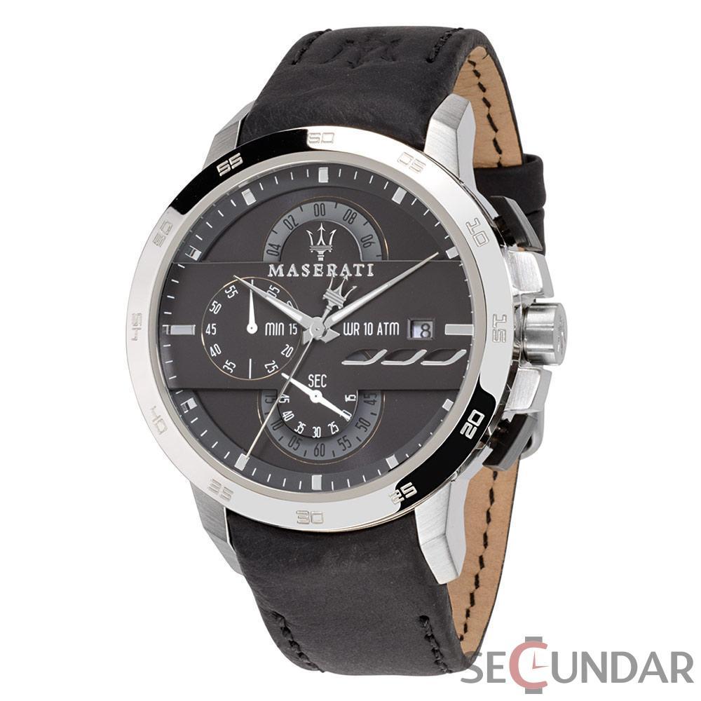 Ceas Maserati INGEGNO R8871619004 Cronograf Barbatesc de Mana Original