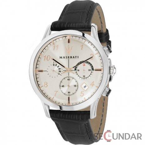 Ceas Maserati R8871625006 Cronograf Barbatesc de Mana Original