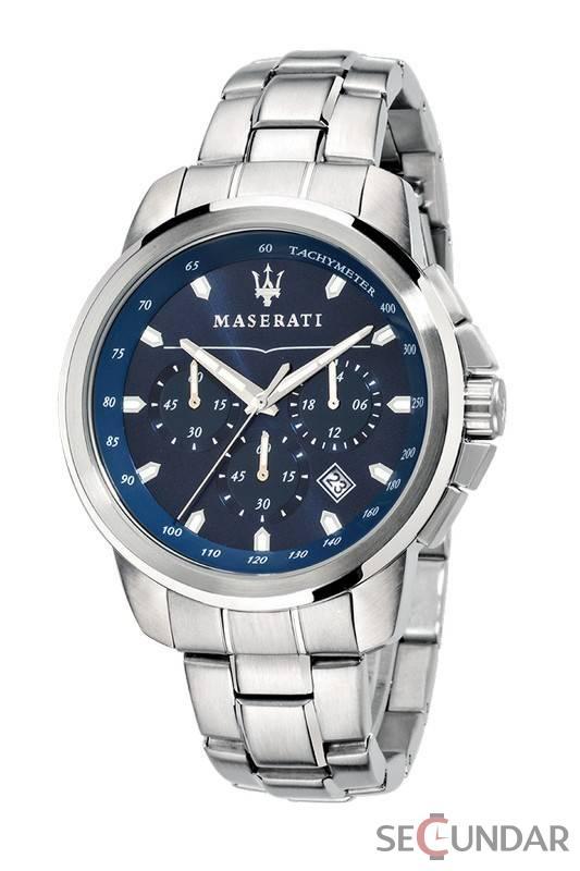 Ceas Maserati SUCCESSO R8873621002 Cronograf Barbatesc de Mana Original
