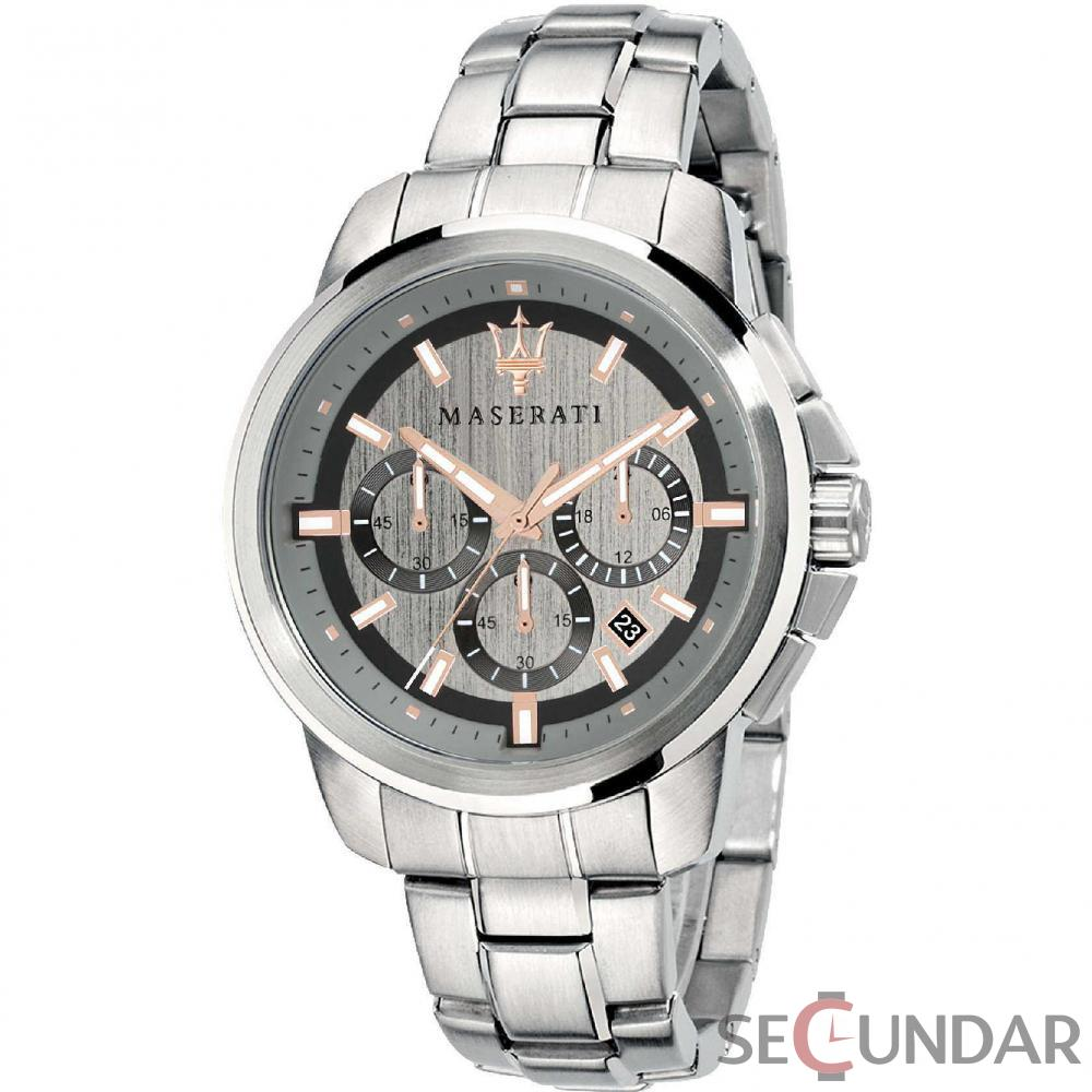 Ceas Maserati SUCCESSO R8873621004 Cronograf Barbatesc de Mana Original