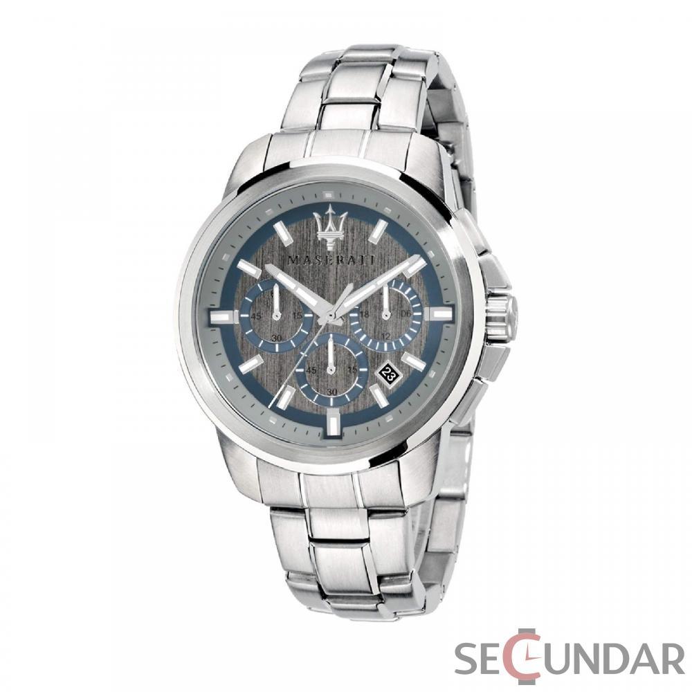 Ceas Maserati SUCCESSO R8873621006 Cronograf Barbatesc de Mana Original