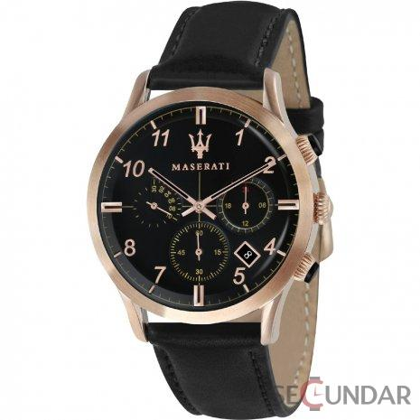 Ceas Maserati TRADIZIONE R8871625004 Cronograf Barbatesc de Mana Original