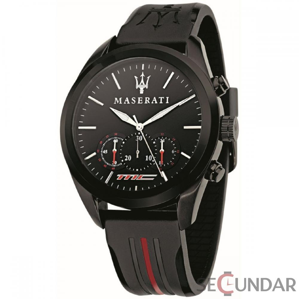 Ceas Maserati TRAGUARDO R8871612004 Cronograf Barbatesc de Mana Original