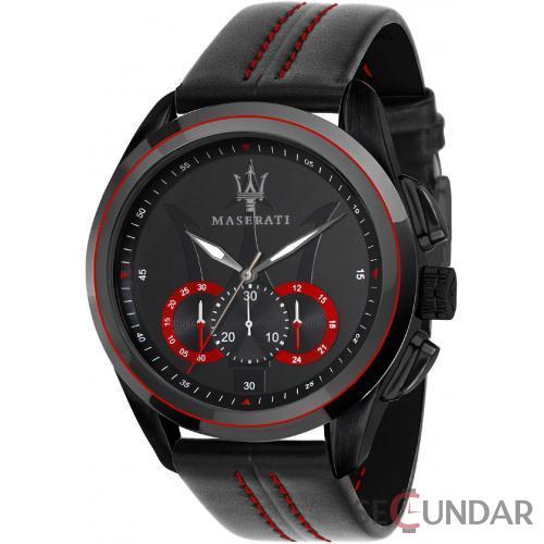 Ceas Maserati TRAGUARDO R8871612023 Cronograf Barbatesc de Mana Original