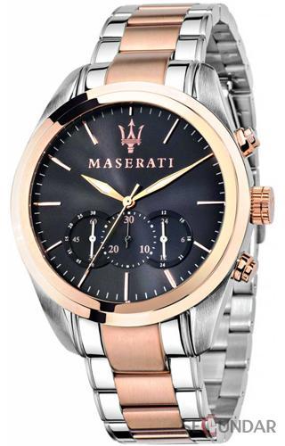 Ceas Maserati TRAGUARDO R8873612003 Cronograf Barbatesc de Mana Original