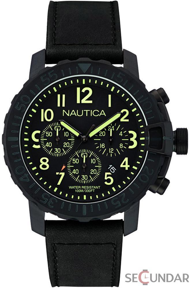 Ceas Nautica NAI21006G Barbatesc de Mana Original