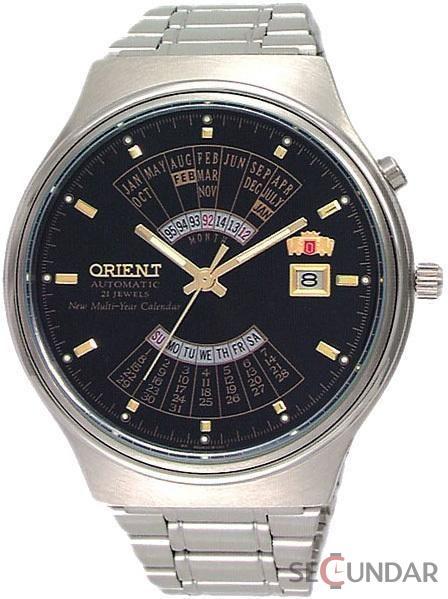 Ceas Orient Automatic FEU00002B Multi Year Calendar Barbatesc de Mana Original