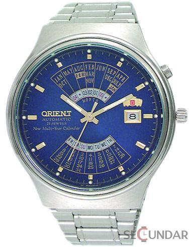 Ceas Orient Automatic FEU00002DW Multi Year Calendar Barbatesc de Mana Original