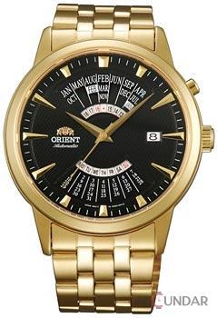 Ceas Orient Automatic FEU0A002BH Multi Year Calendar Barbatesc de Mana Original