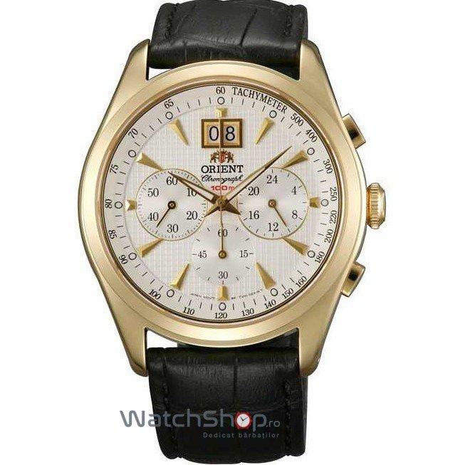 Ceas Orient CLASSIC DESIGN TV01002W Barbatesc Original de Lux