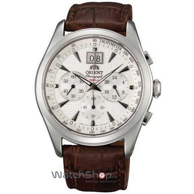 Ceas Orient CLASSIC DESIGN TV01005W Barbatesc Original de Lux