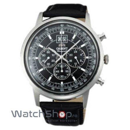 Ceas Orient CLASSIC DESIGN TV02003B Cronograf Barbatesc Original de Lux