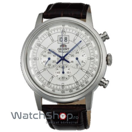Ceas Orient CLASSIC DESIGN TV02004W Cronograf Barbatesc Original de Lux