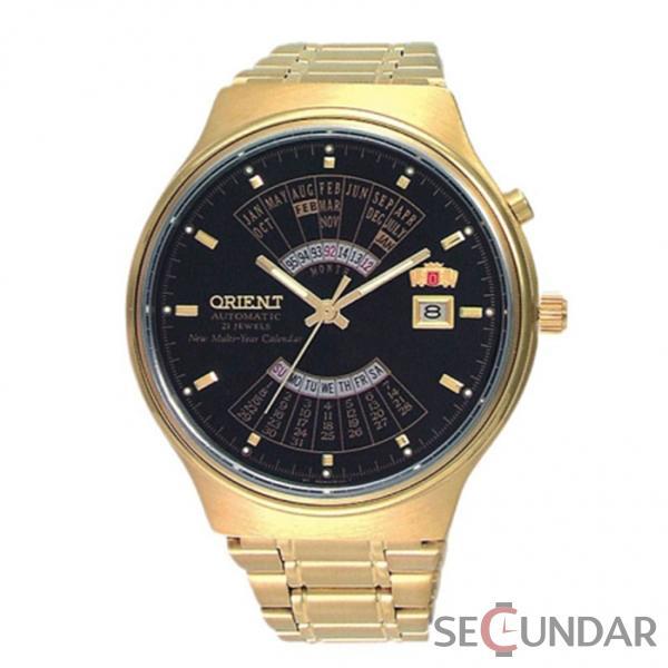 Ceas Orient FEU00008BW Automatic Multi Year Calendar Barbatesc de Mana Original