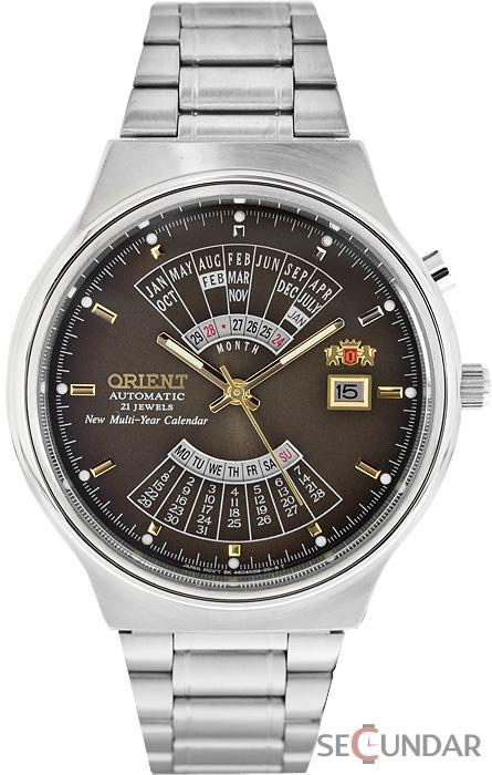 Ceas Orient SPORTY AUTOMATIC FEU00002TW Multi-Year Calendar Barbatesc de Mana Original