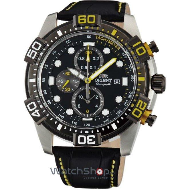 Ceas Orient SPORTY FTT16005B0 Cronograf Barbatesc Original de Lux