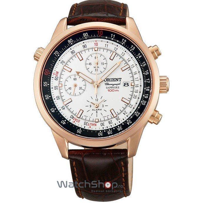 Ceas Orient SPORTY QUARTZ FTD09005W0 Cronograf Barbatesc Original de Lux