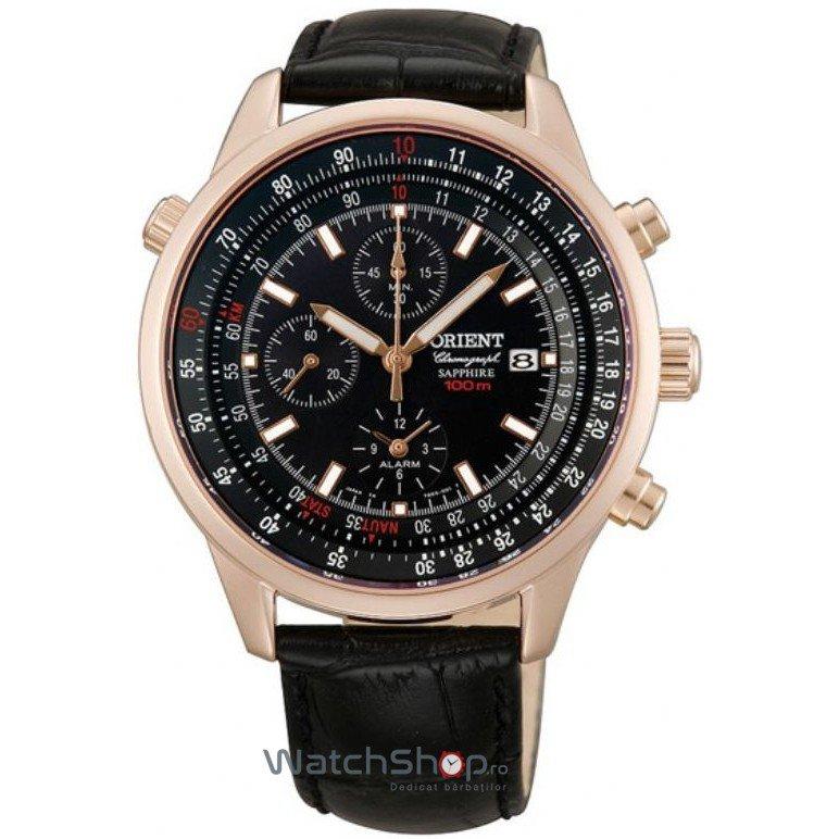 Ceas Orient SPORTY QUARTZ TD09004B Cronograf Barbatesc Original de Lux