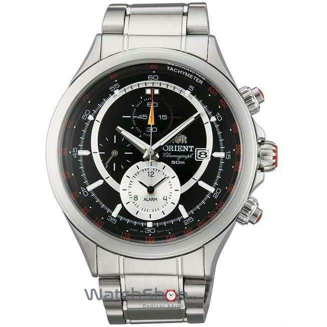 Ceas Orient SPORTY QUARTZ TD0T005B0 Cronograf Barbatesc Original de Lux