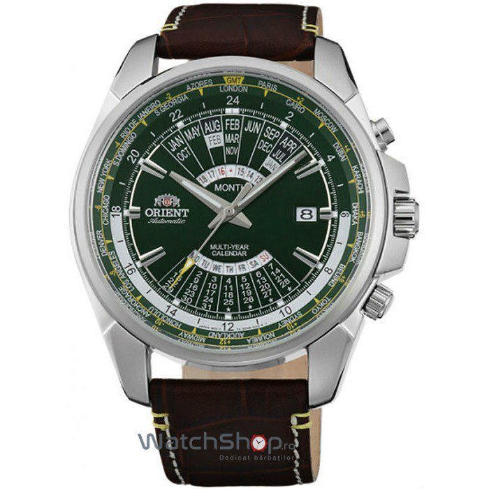 Ceas Orient Sporty Automatic EU0B003F Multi-Year Calendar Barbatesc Original de Lux
