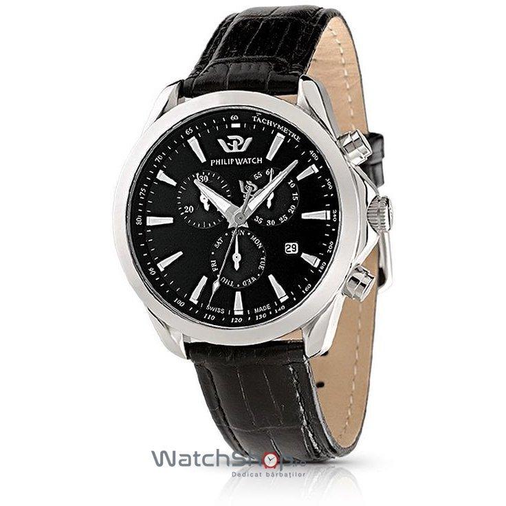 Ceas PhilipWatch BLAZE R8271995225 Cronograf Barbatesc Original de Lux