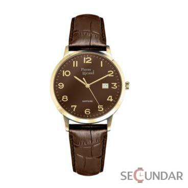 Ceas Pierre Ricaud Classic P91022.122GQ Barbatesc de Mana Original