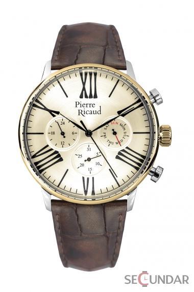 Ceas Pierre Ricaud Classic P97212.2261QF Barbatesc de Mana Original