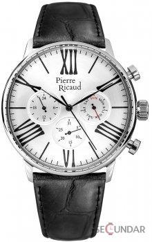 Ceas Pierre Ricaud Classic P97212.5263QF Barbatesc de Mana Original