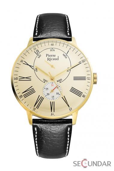 Ceas Pierre Ricaud Classic P97219.1231QF Barbatesc de Mana Original