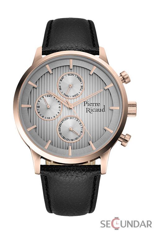 Ceas Pierre Ricaud Classic P97230.92R7QF Barbatesc de Mana Original
