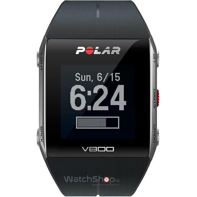 Ceas Polar TRAINING COMPUTER V800 BLACK 90060770 GPS Barbatesc Original de Lux