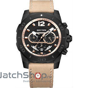 Ceas RHYTHM SPORT S1408L05 Cronograf Barbatesc Original de Lux