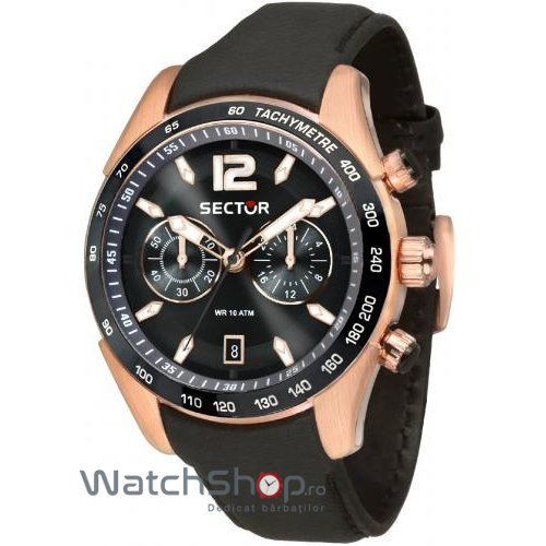 Ceas Sector 330 R3271794003 Cronograf Barbatesc Original de Lux
