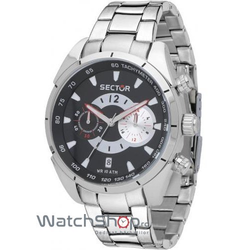 Ceas Sector 330 R3273794002 Cronograf Barbatesc Original de Lux