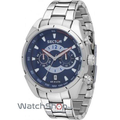 Ceas Sector 330 R3273794003 Cronograf Barbatesc Original de Lux