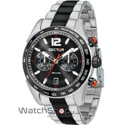 Ceas Sector 330 R3273794005 Cronograf Barbatesc Original de Lux