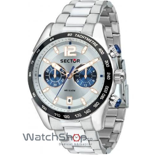 Ceas Sector 330 R3273794008 Cronograf Barbatesc Original de Lux