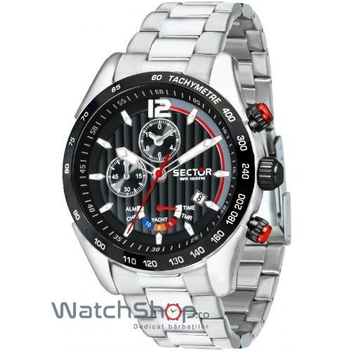 Ceas Sector 330 R3273794009 Cronograf Barbatesc Original de Lux