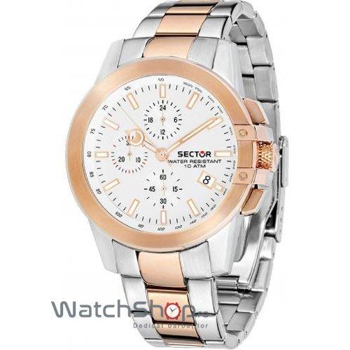 Ceas Sector 480 R3273797001 Cronograf Barbatesc Original de Lux