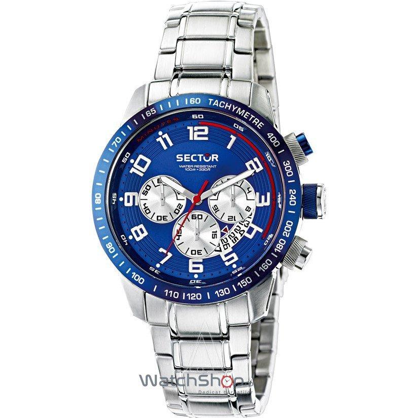 Ceas Sector RACING R3273975001 Cronograf Barbatesc Original de Lux