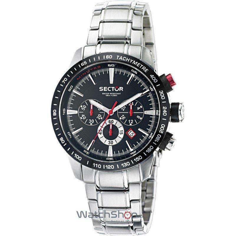 Ceas Sector RACING R3273975002 Cronograf Barbatesc Original de Lux