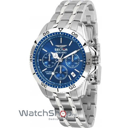 Ceas Sector SGE 650 R3273962001 Cronograf Barbatesc Original de Lux
