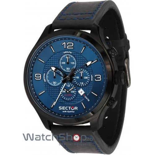 Ceas Sector TRAVELLER R3271804001 Cronograf Barbatesc Original de Lux