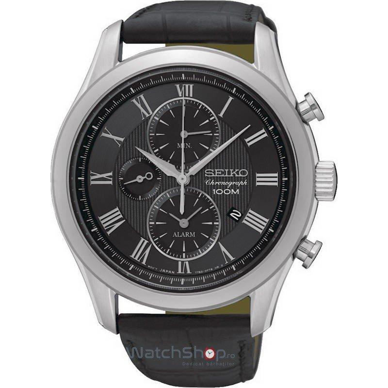 Ceas Seiko CLASSIC SNAF71P1 Cronograf de mana pentru barbati