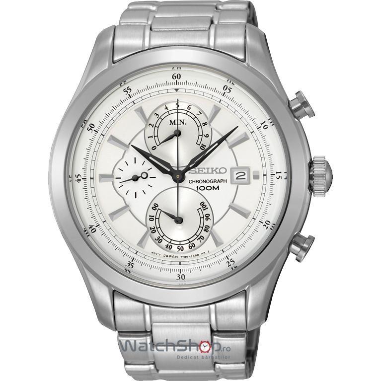 Ceas Seiko DRESS SPC163P1 Cronograph de mana pentru barbati
