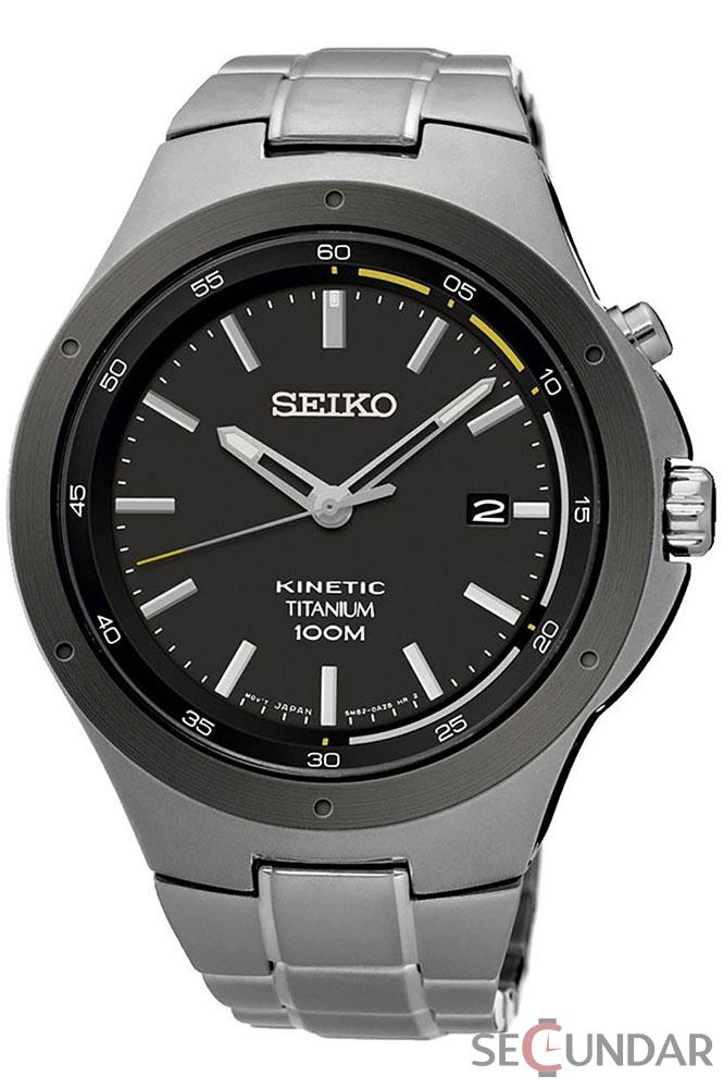 Ceas Seiko KINETIC SKA715P1 Barbatesc de Mana Original