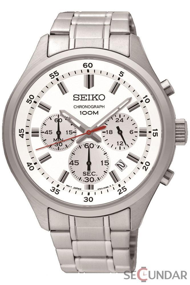 Ceas Seiko Quartz SKS583P1 Barbatesc de Mana Original